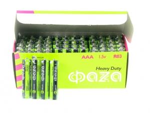 Батарейка ФАЗА AA UM-3 R6P 1,5v 1/24 (АВ02899)