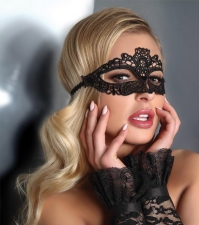Кружевные карнавальная маска